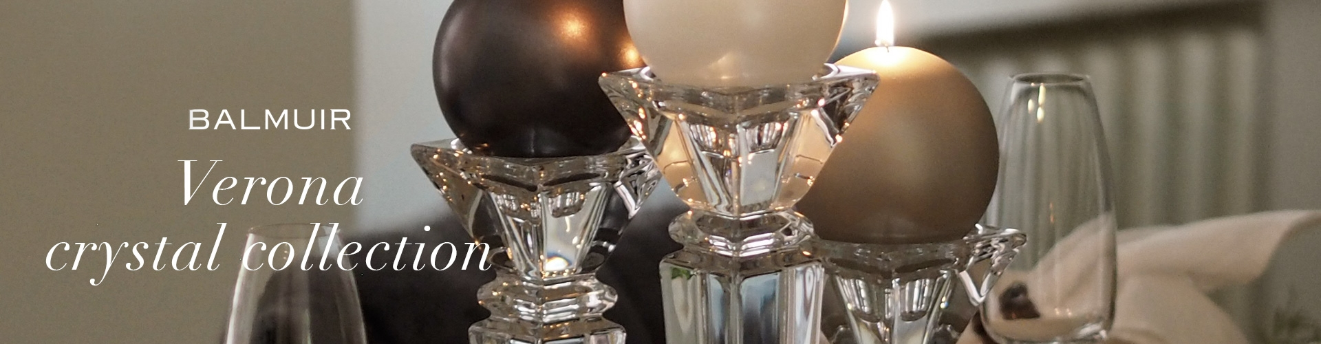 Verona crystal collection