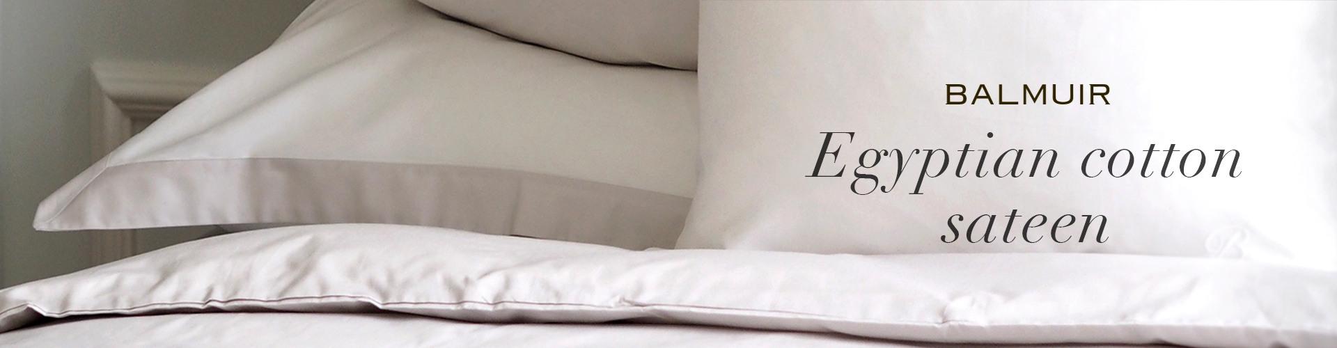 Egyptian cotton sateen