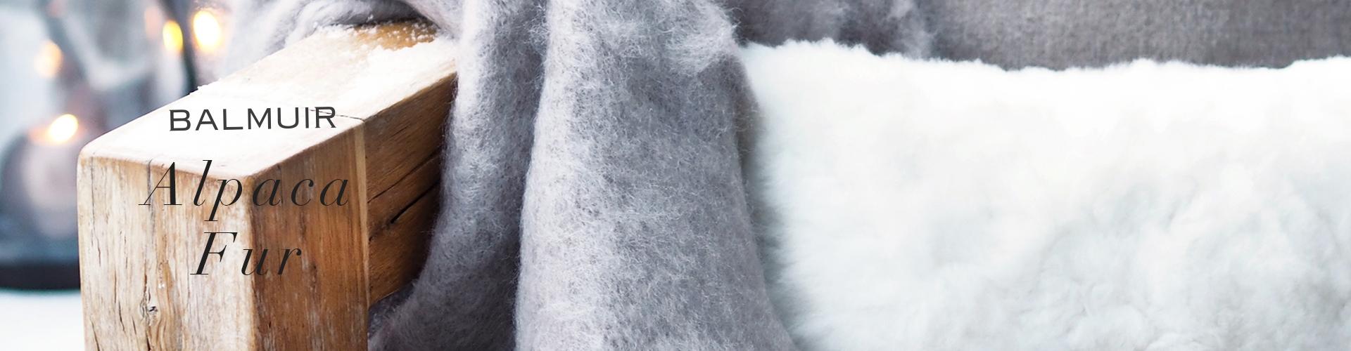 Alpaca fur