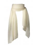 Aurelia scarf, 70x200cm, ivory