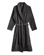 Como robe, grey