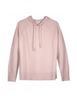 Lilia lounge hoodie, S-L, blush pink
