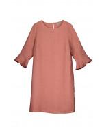 Livia linen blouse tunic, S-XL, white