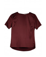 Molly t-shirt, XS-XL, wine red