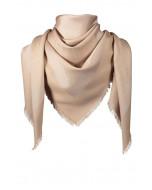 Capri scarf, 140x140cm, almond