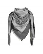 Capri scarf, 140x140cm, black