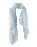 Dawn scarf, 70x200cm, baby blue