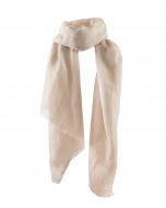 Balmuir Dawn scarf, light taupe