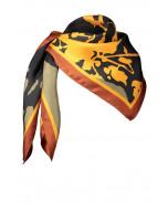 Faith scarf, 90x90cm, gold