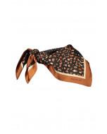 Fallon scarf, 67x67cm, rust