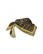 Fallon scarf, 67x67cm, khaki