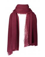 Helsinki scarf, several sizes, burgundy