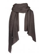 Helsinki scarf, 70x195cm, turkish coffee