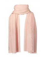 Helsinki scarf, several sizes, crystal pink