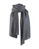 Helsinki scarf, several sizes, dark grey melange