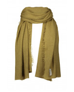 Helsinki scarf, 70x195cm, ecru olive