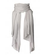 Helsinki scarf, several sizes, light grey
