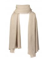 Helsinki scarf, 70x195cm, light taupe