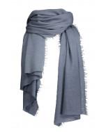 Helsinki scarf, 70x195cm, stormy blue
