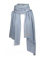 Helsinki scarf, 70x195cm, blue haze