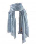 Helsinki scarf, 70x195cm, baby blue