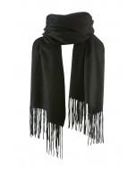 Highland scarf, several sizes, black