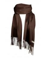 Highland scarf, several sizes, dark brown