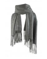 Highland scarf, melange grey
