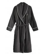Portofino robe, XS-XL, dark grey