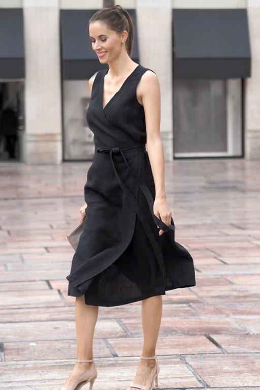 Latizia wrap dress