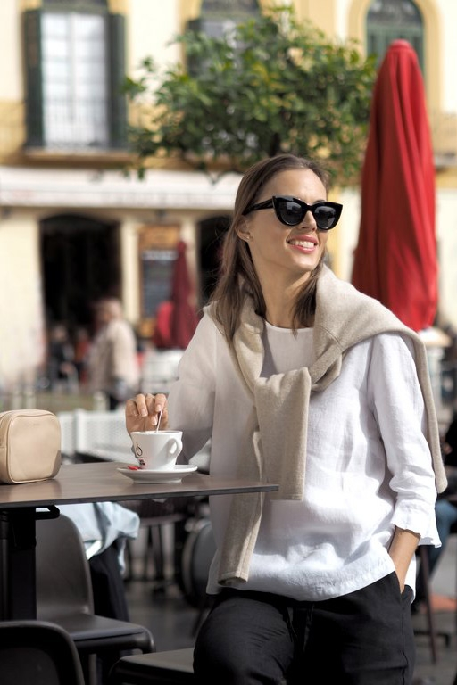 Linnea linen blouse