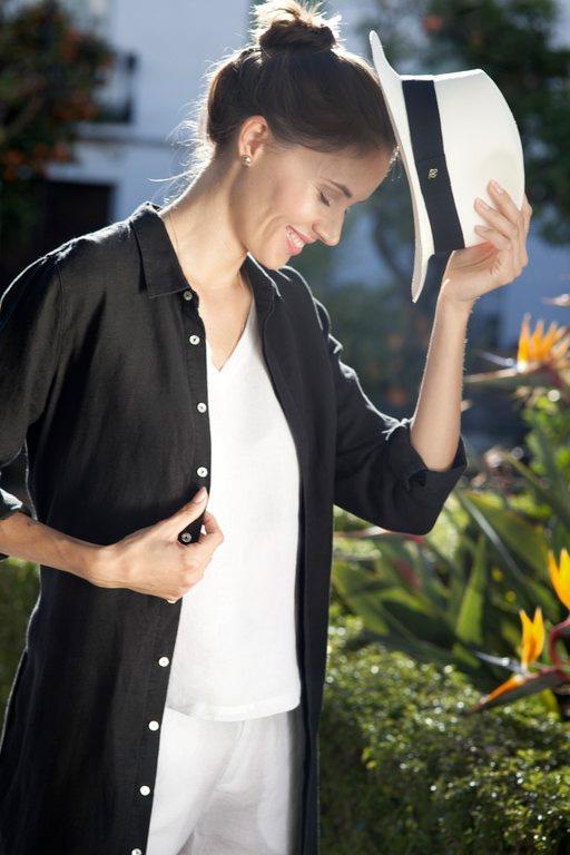 Livia linen tunic