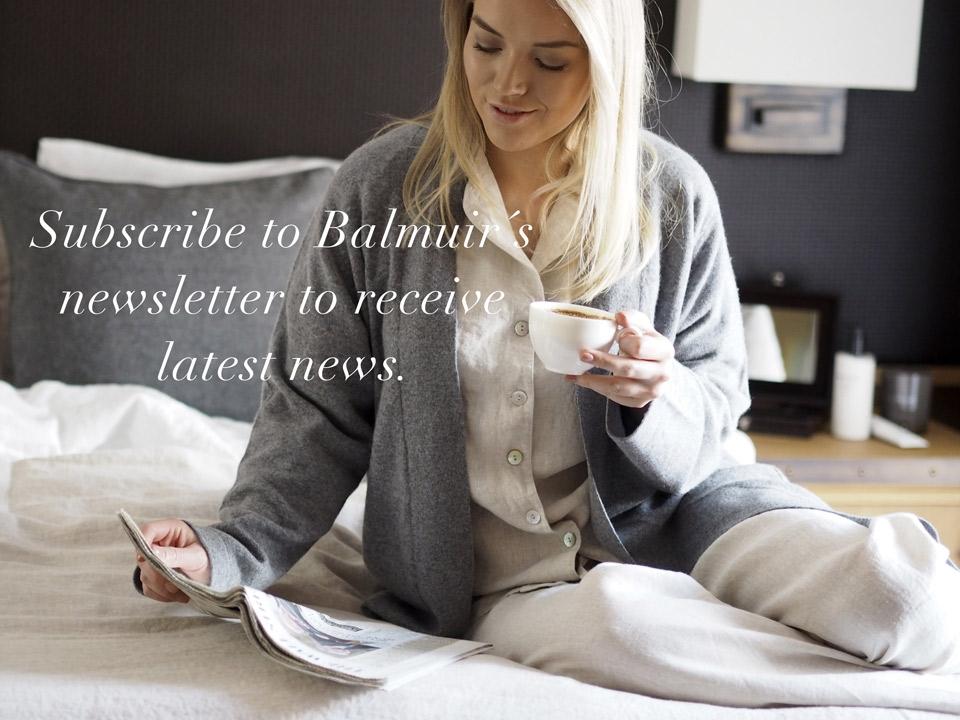 Order Balmuir newsletter