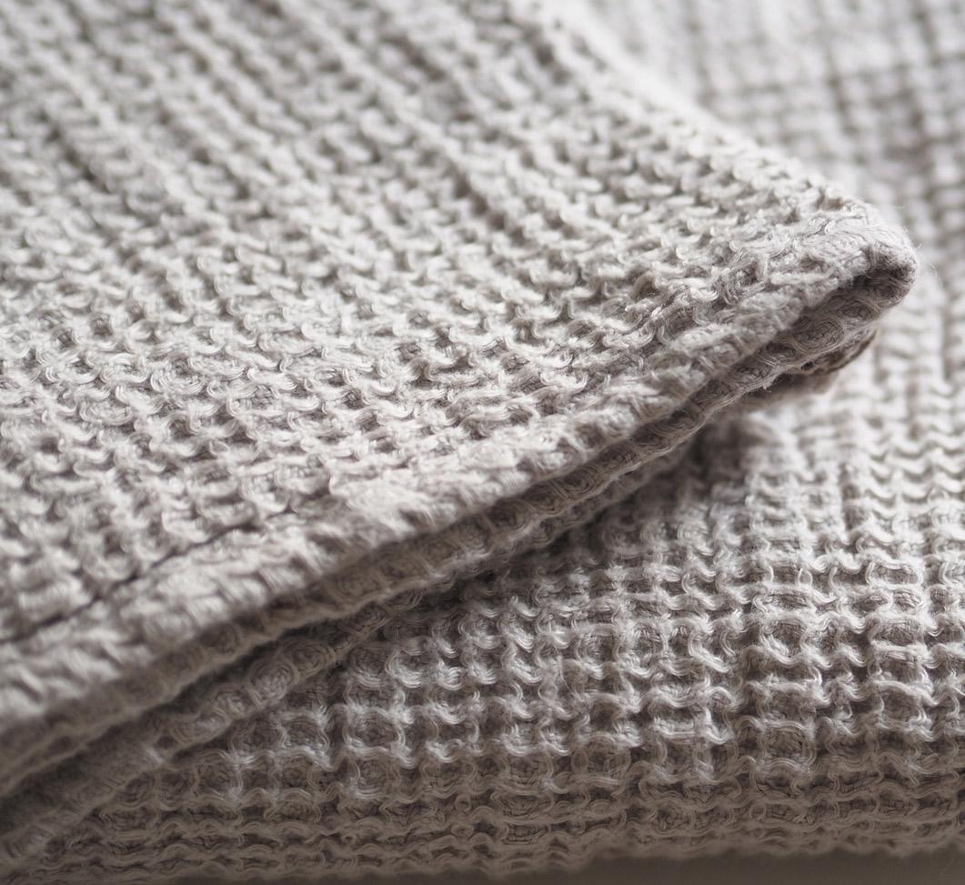 Balmuir Linen towel close up