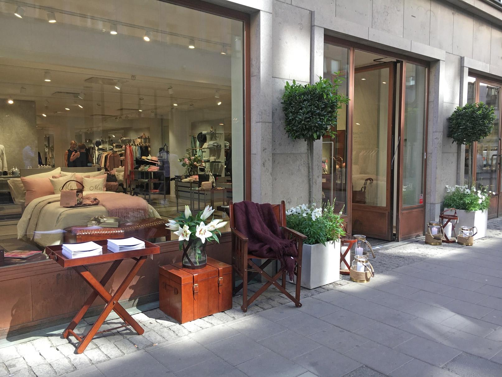 Balmuir Brand Store Stockholm Opening May 2018