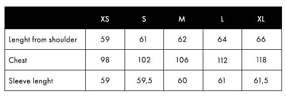 Balmuir Lausanne Cashmere Hoodie Size Chart